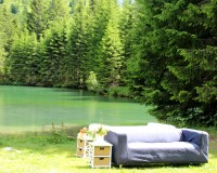 Sofas am Almsee