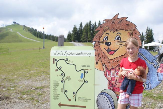 Leos Spielewanderweg am Asitz