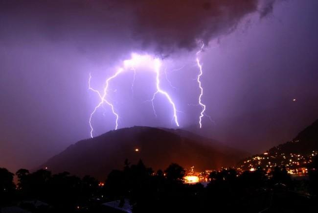 Gewitter über Zell am See Kaprun