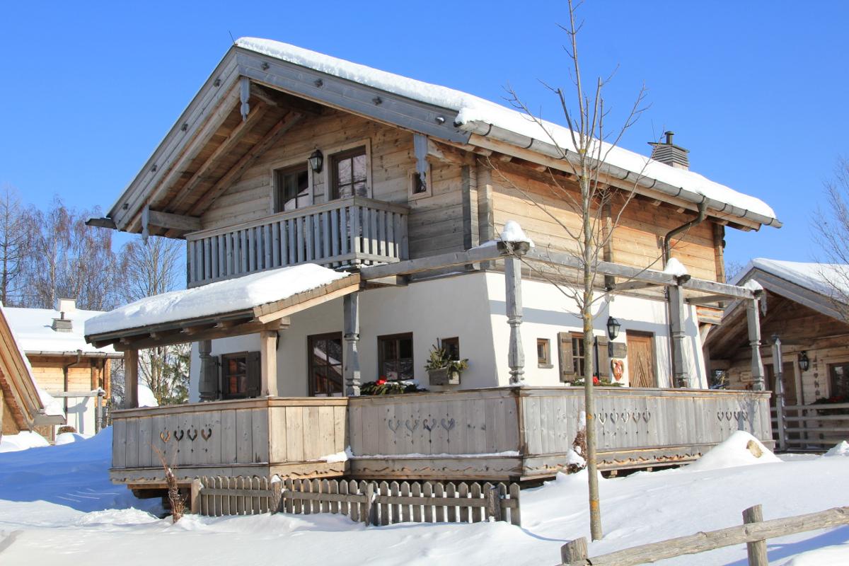 Im Winter nur 5 Minuten vom Einstieg Skicirkus Leogang entfernt