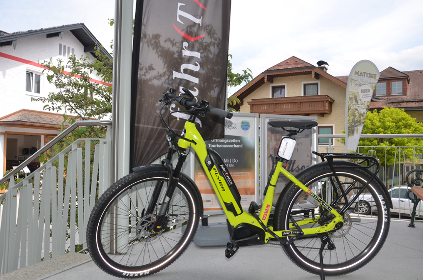 Elektro-Leihräder