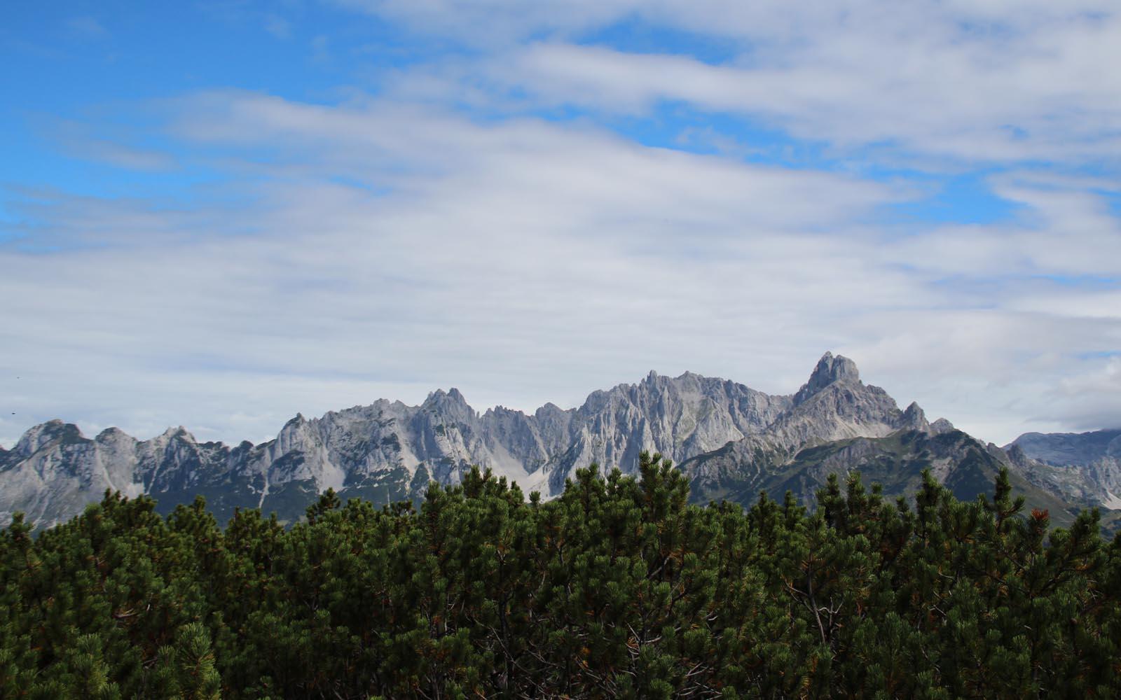 Am Gipfel eröffnet sich unbeschreibliches 360 Grad Panorama