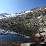 """Die """"Lea-Lack´n"""" unterhalb des Keeskogel-Gletschers"""