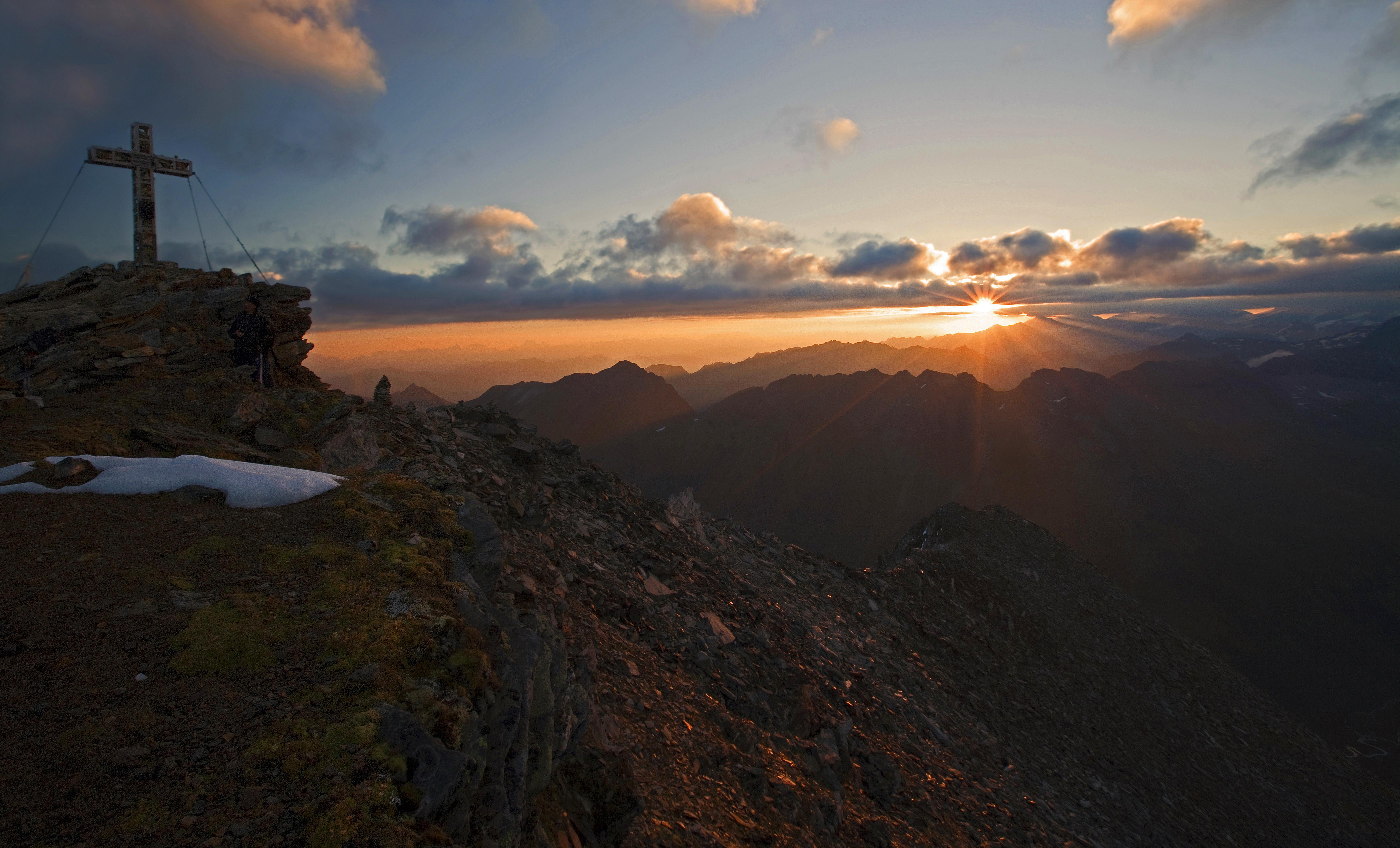 Sonnenaufgang Auf Einem Dreitausender Salzburgerland Magazin