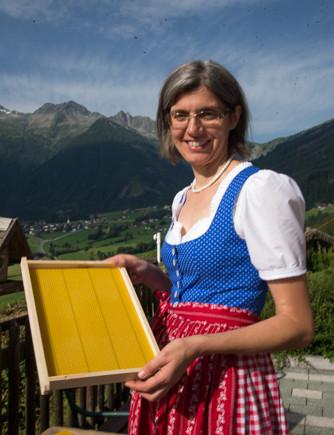 Imkerin Annelies Klausner