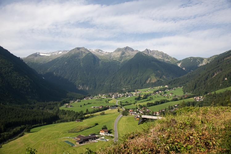Aussicht vom Gasthaus Falkenstein