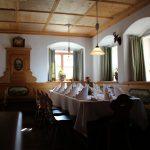 Hier lässt sich´s aushalten: Einer der gemütlichen Gasträume.