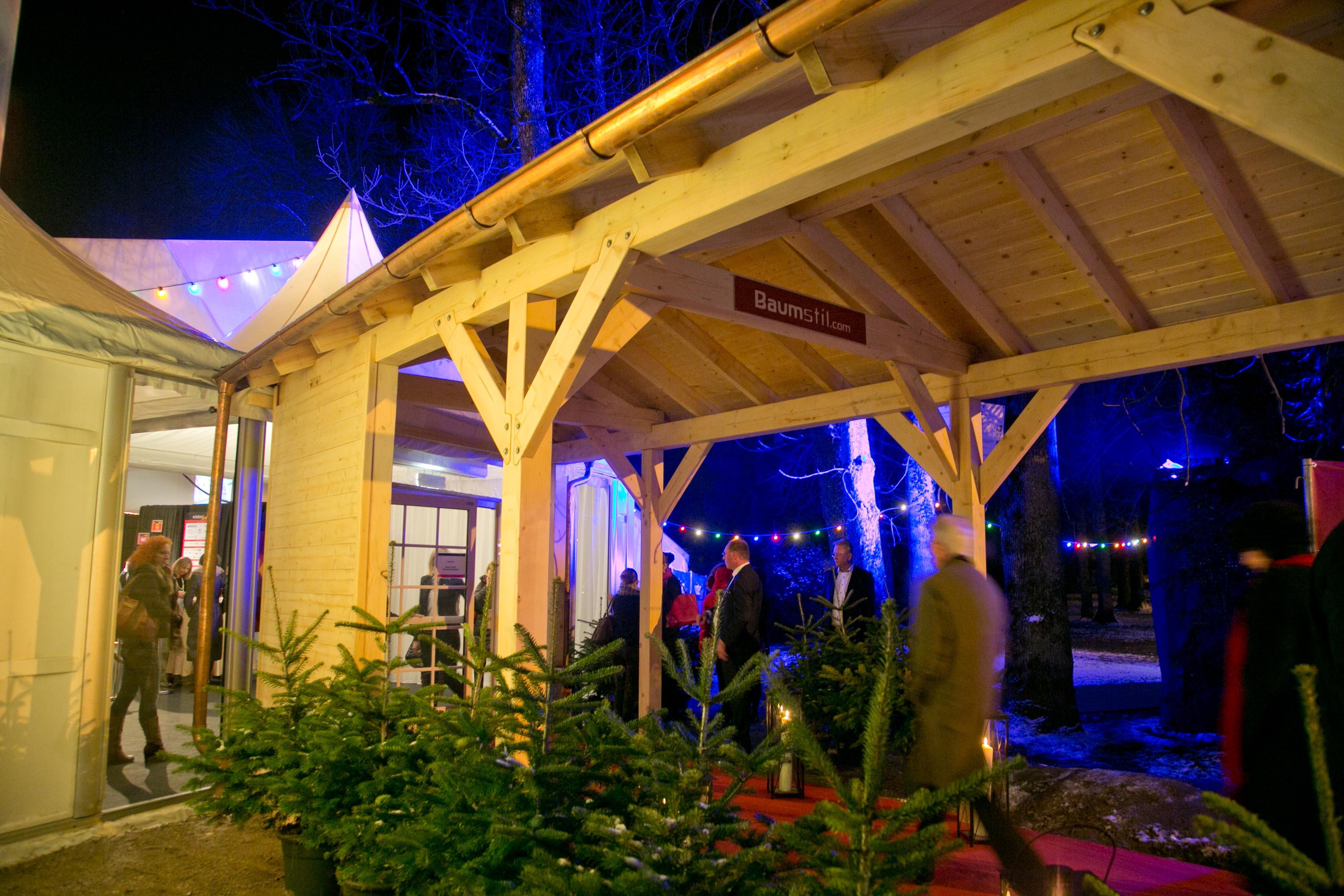Eingangsbereich zum Großen Zelt