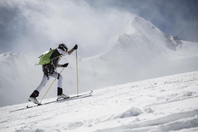 Viele Athleten trainieren schon für die beiden Skitouren-Events am Kitz. c Kitzsteinhorn