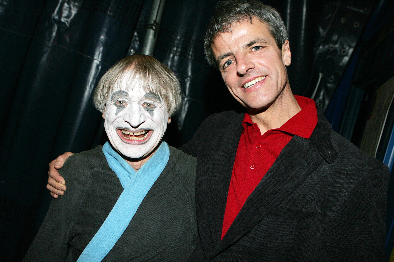 Clownvater Dimitri und Georg Daxner