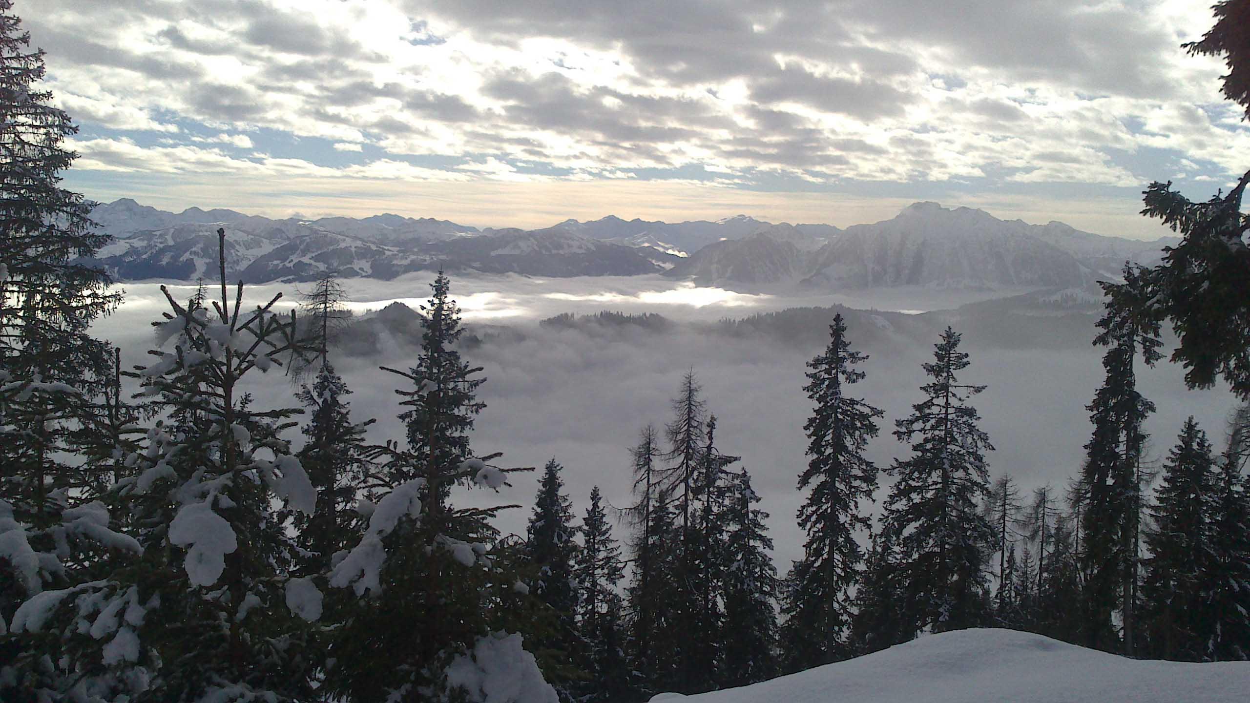Traumhafte Winterlogenplätze im ganzen SalzburgerLand (Foto: Maria Riedler)