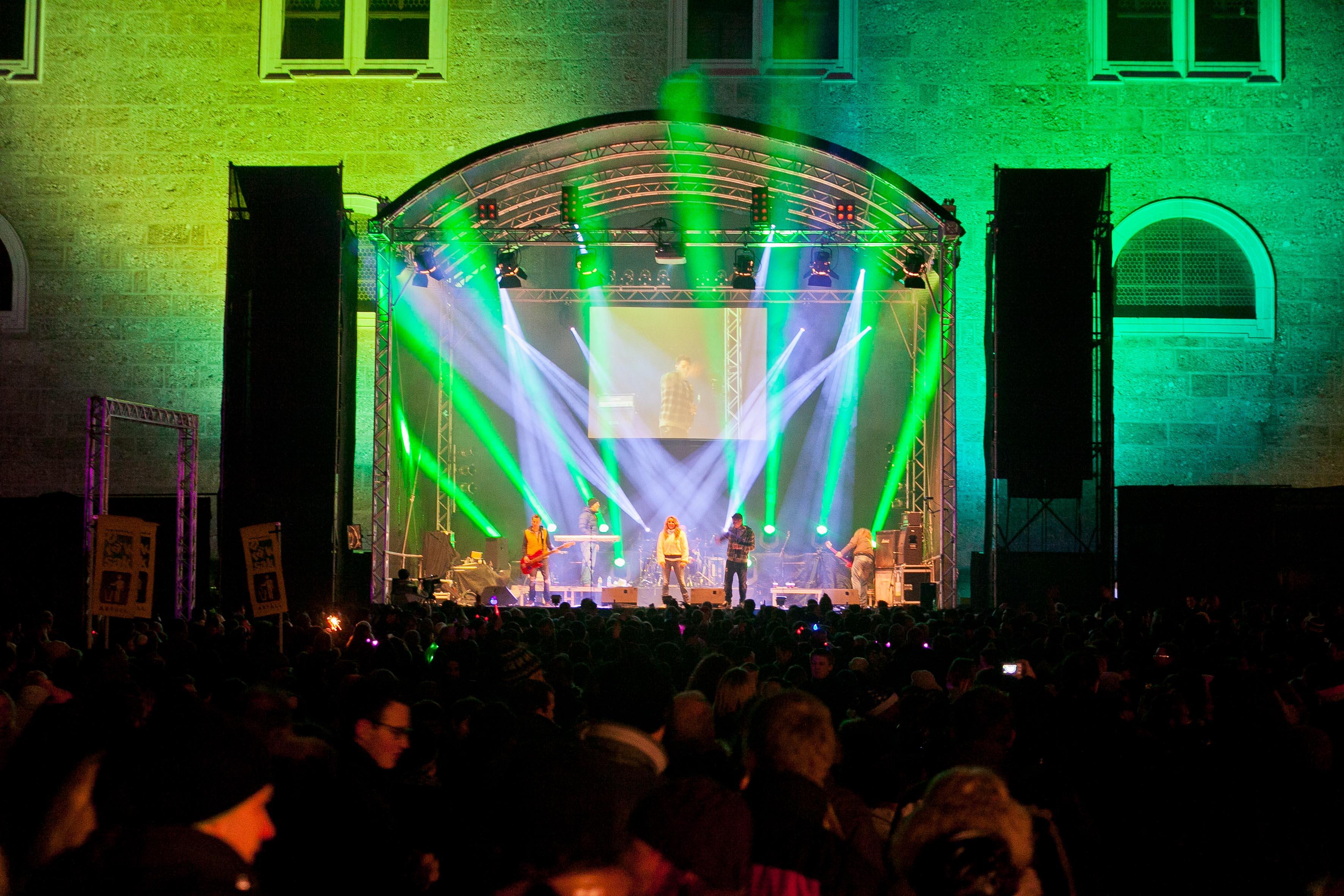 Bühne am Residenzplatz