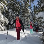 Nach einem Skitourenwochenende mit Profis kann man die erste Tour alleine angehen.