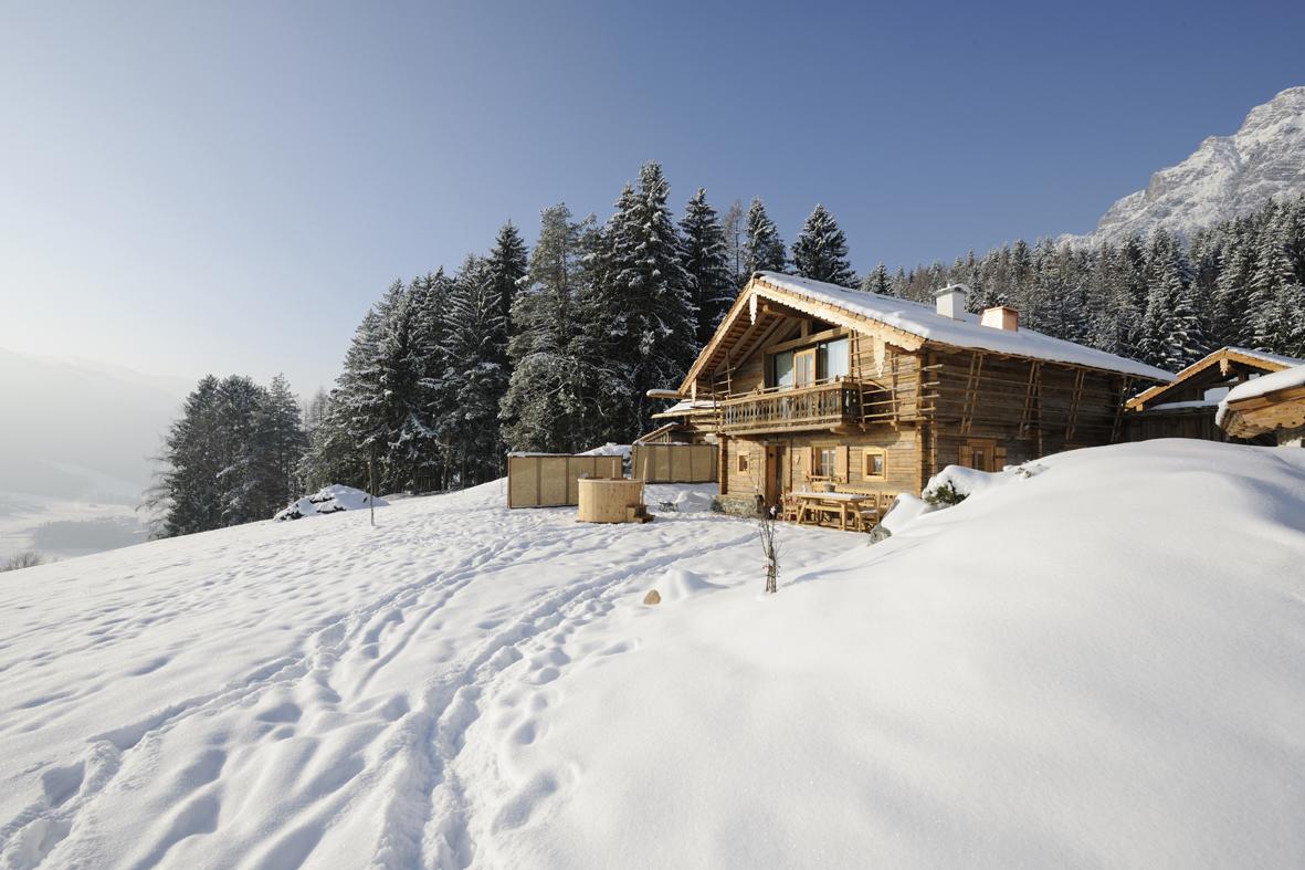Mit den Skiern bis zur Hütte - Priesteregg, Leogang