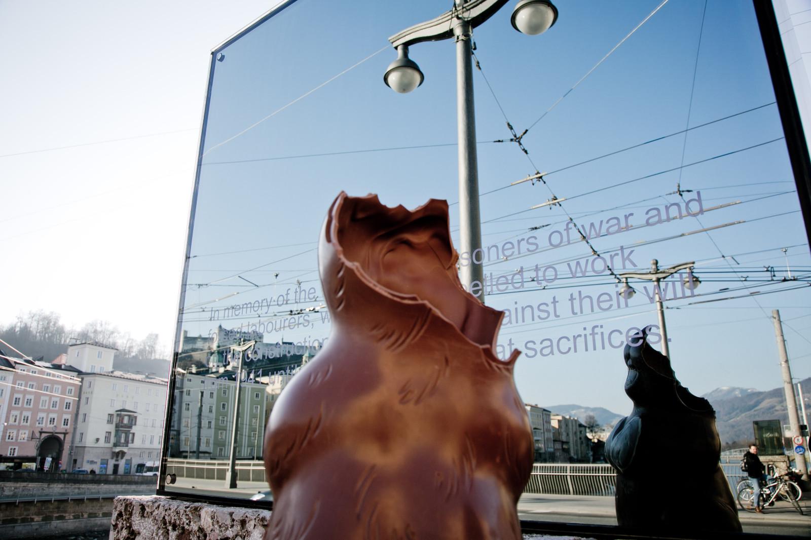 Spiegelung mit Hasenrumpf