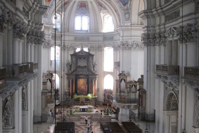 Domquartier eröffnet Besuchern neue Einblicke in den Salzburger Dom