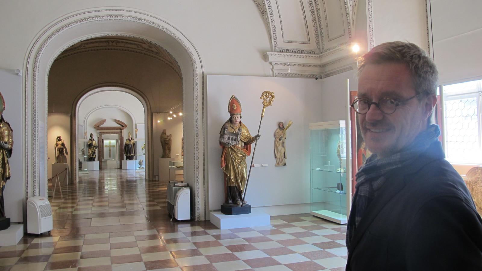Dommuseumsdirektor Dr. Peter Keller in