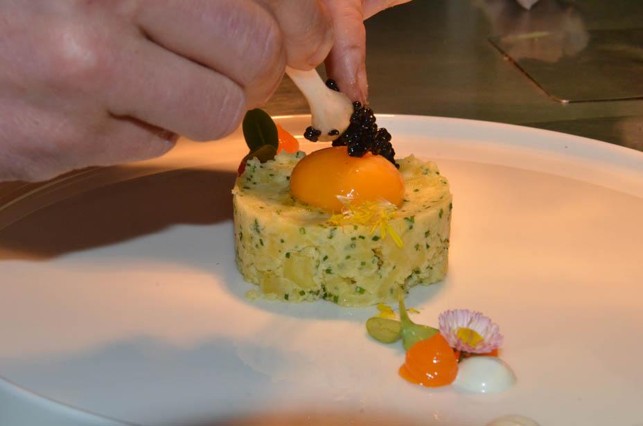 Kaviar passt gut zu Eachtling