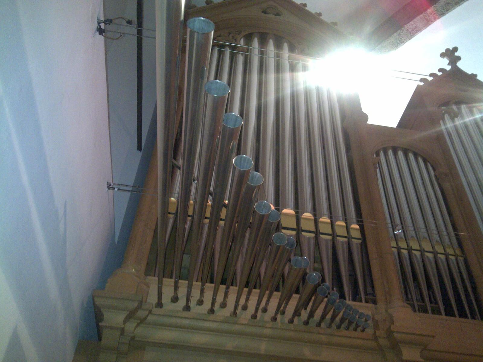 Die Heilig-Geist-Orgel der Franziskaner-Kirche