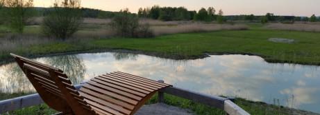 Nehmen Sie Platz und genießen sie unser Moor-Kino in der NaturLoge!
