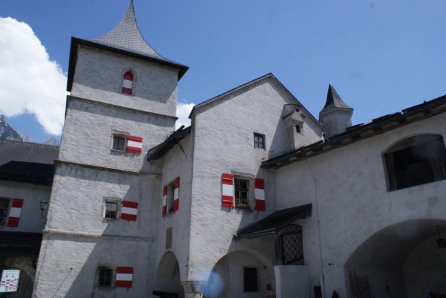 Burg Hohenwerfen Innenhof