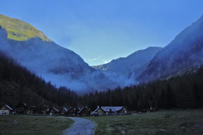 Hüttendorf Hintergöriach
