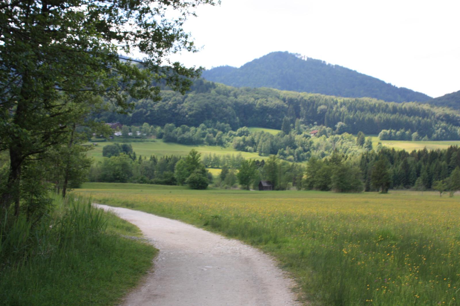 Weg durchs Paradies