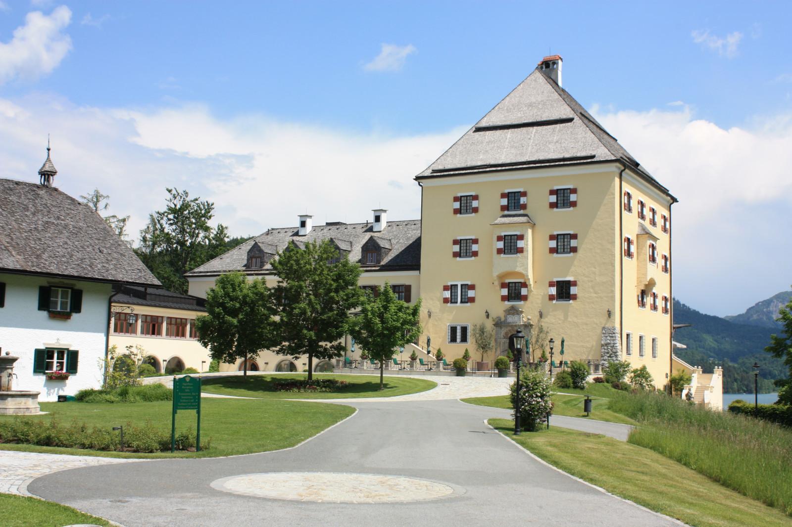 Schloss Fuschl: Hier wurde Sissi gedreht