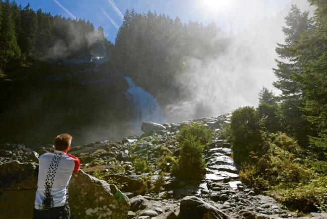 Zu den Krimmler Wasserfälle