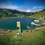 Der Gerstreitteich wird zum Lake of Charity. c Klaus Listl