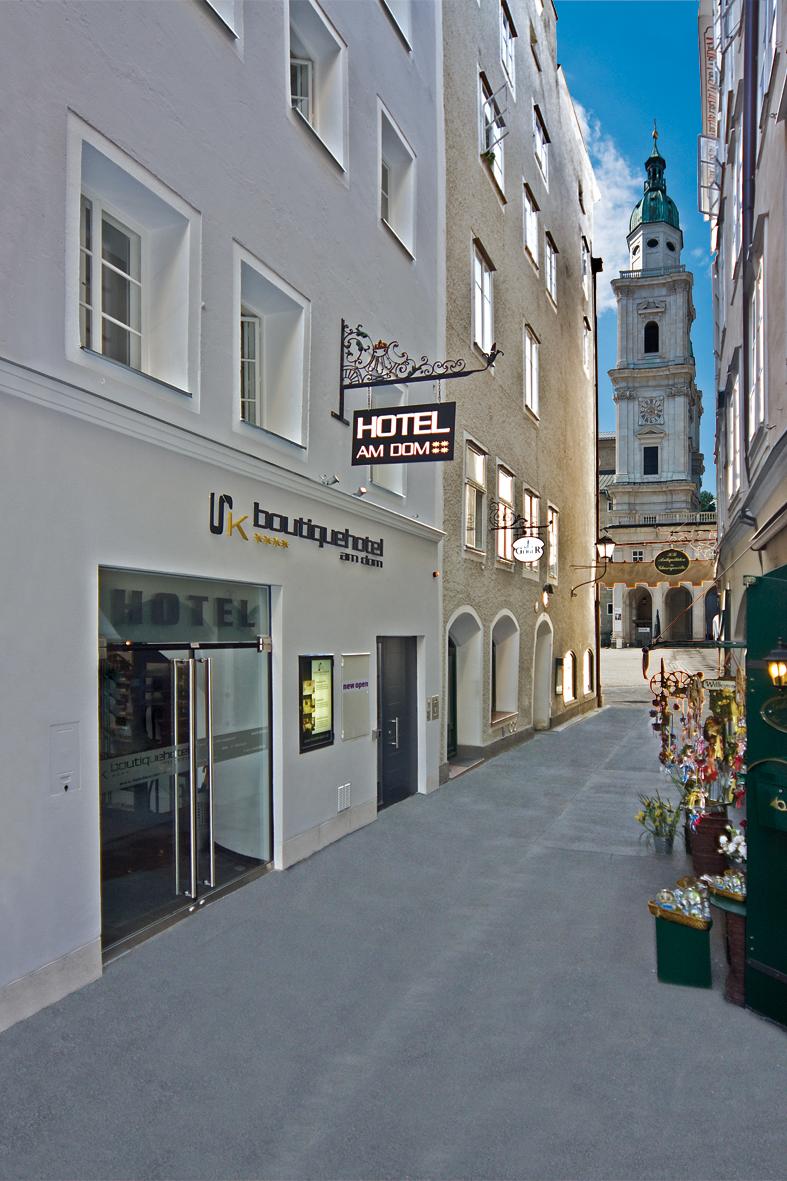 Boutiquehotel am dom geheimtipp in der salzburger for Boutique hotel 06