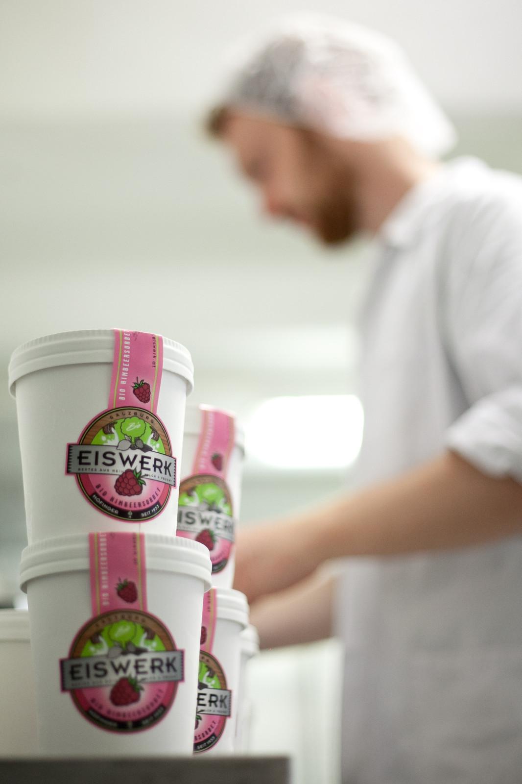 2005 wurde aus Höfinger Eis die Marke EISWERK