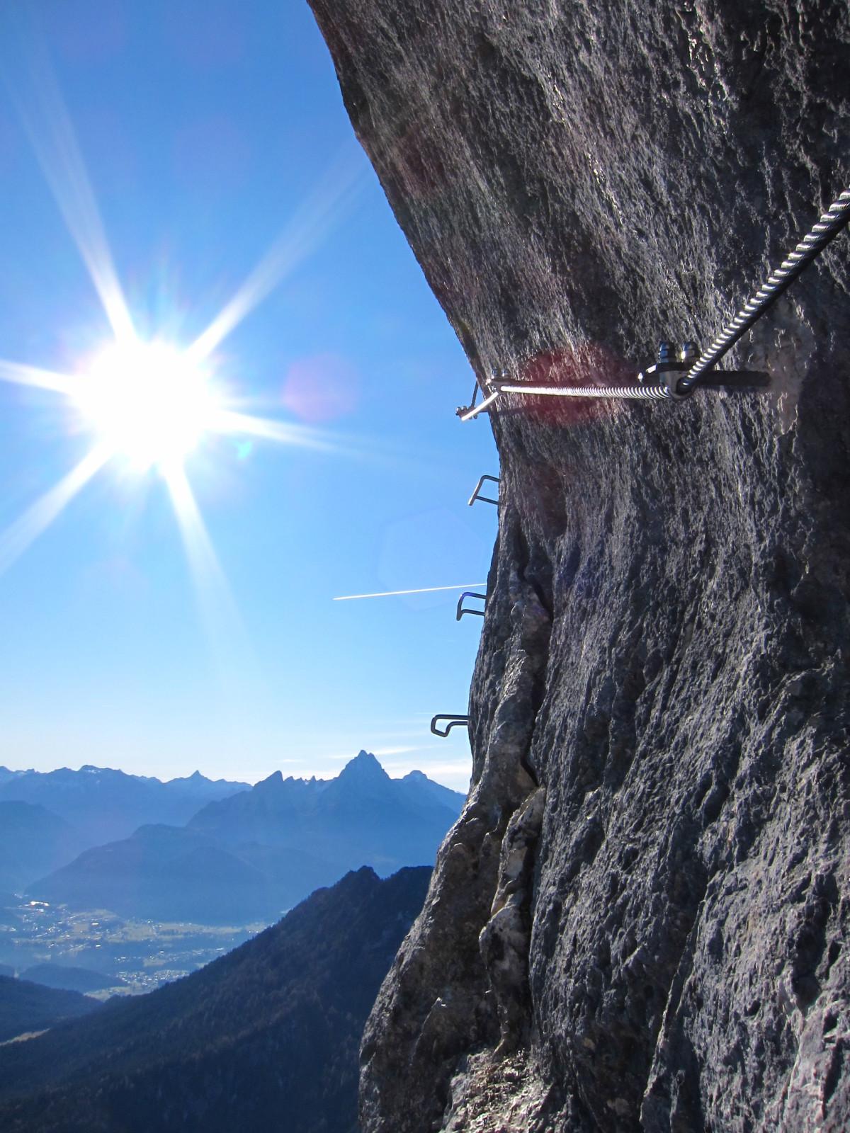 Klettersteig mit Aussichtspunkt