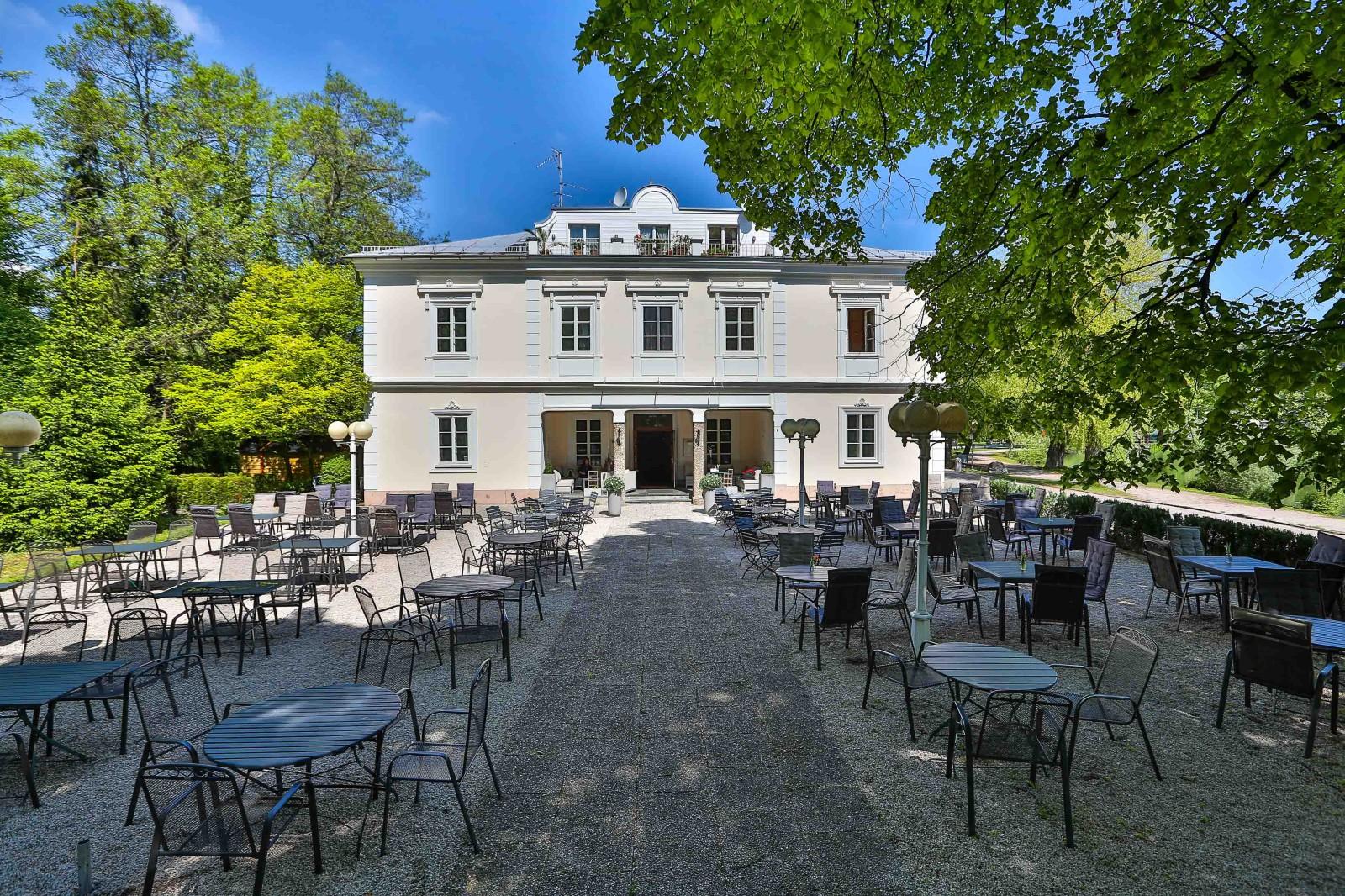 Großer Gastgarten