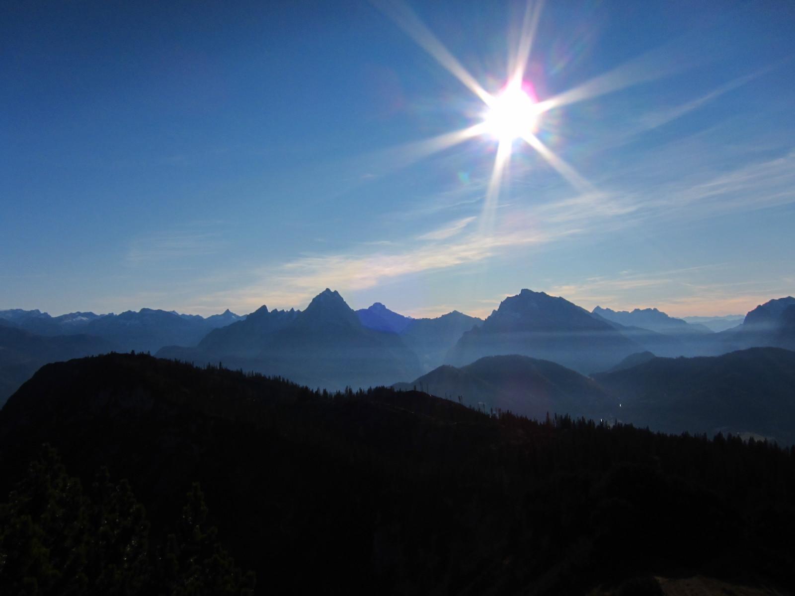Blick vom Untersberg