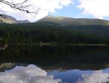 Preber spiegelt sich im See