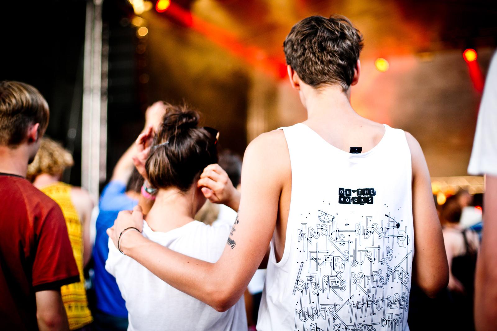 Shirts als Erinnerung an das Festival