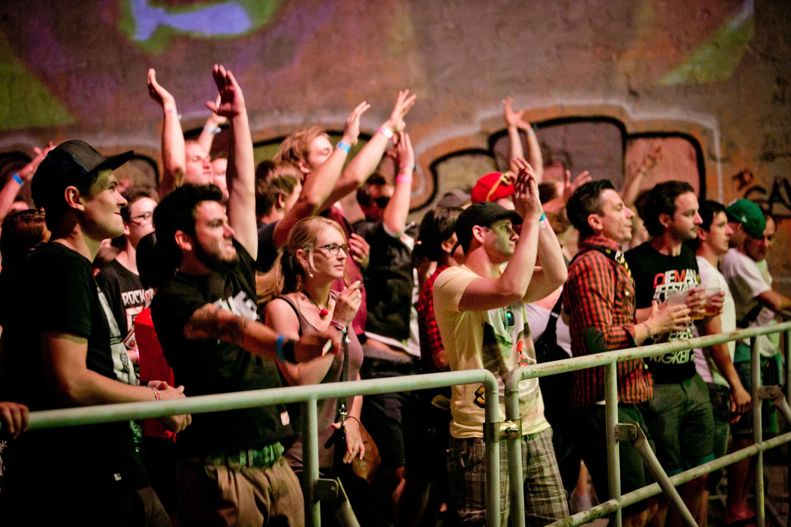 Die Fans der ersten Reihe