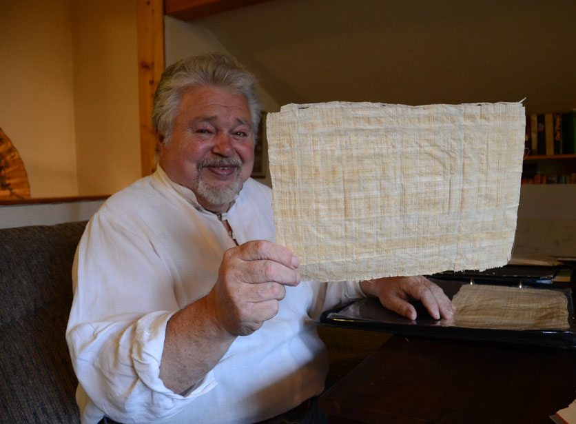 Papier aus Papyrus