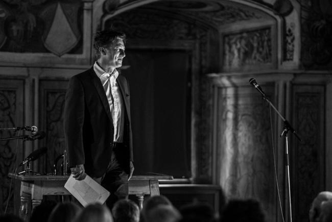 Tobias Moretti beim Festival Verstörungen