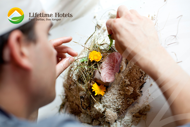 Regionale Zutaten für das Lifetime-Menü. c lifetimehotels