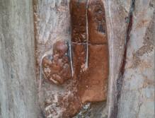 Die Schwurhand am Portal der Franziskanerkirche Salzburg