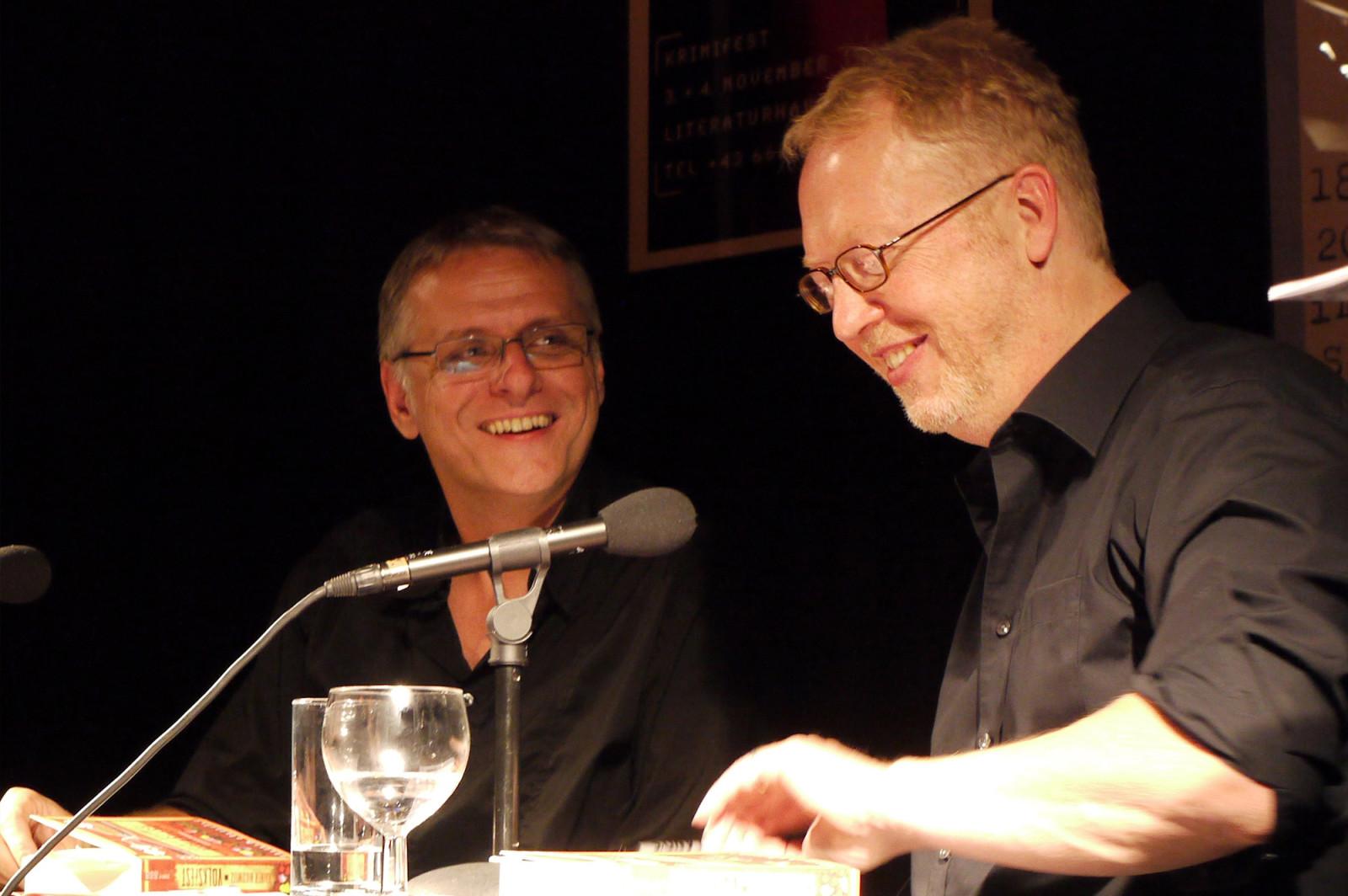 Tomas Friedmann im Gespräch mit Rainer Nikowitz.