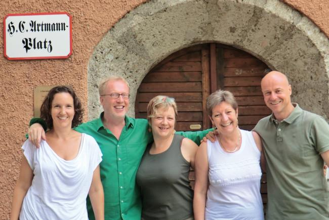 Das Literaturhaus-Team.