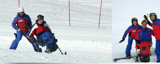 Skilauf mit und ohne Handicaps