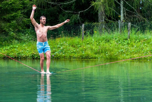 Beim Tanz übers Wasser
