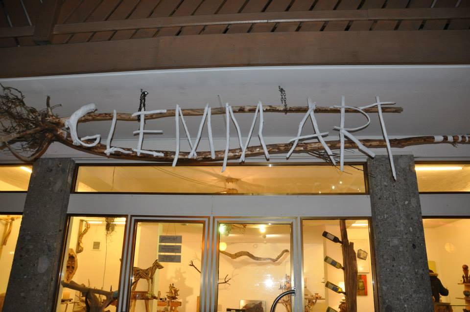 Das Atelier im Zentrum von Hinterglemm wird ab diesem Winter auch als Bar geführt.