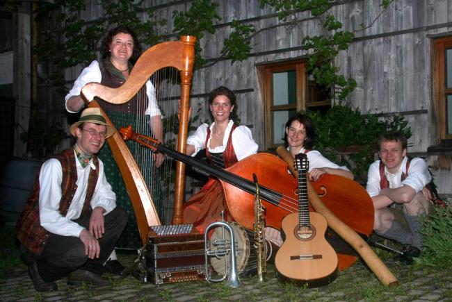 Das 5köpfige Ensemble rund um Hubert Brunauer
