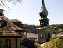Versteckt am Imberg ist die Johanneskriche.