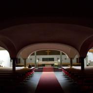 """Interessant ist das """"Innenleben"""" der Pfarrkirche Parsch."""